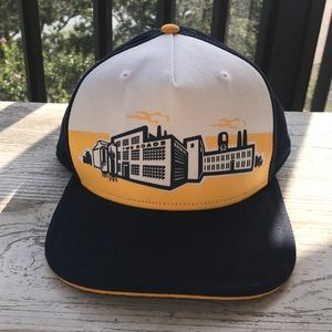 Likes new two roads brewery SnapBack